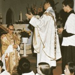 SFX old photo - fr lou installed as pastor
