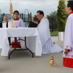 Altar servers at CC procession (3)
