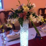 Arrangement (8) at Vietnamese banquet