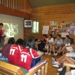 Learning sessions at our Young Adults retreat