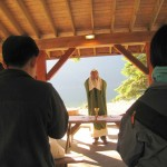 Outdoor Mass during our Young Adults retreat at Camp Jubilee